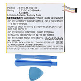 58-000119 26S1008 ST10 Battery for Amazon Kindle Fire HD 10 SR87CV