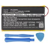 "PR-285083 Battery for NOOK GlowLight Plus BNRV510 & Kobo Glo HD 6"""