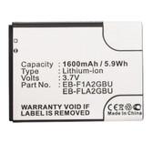 Samsung Galaxy S2 GT-I9100 Galaxy Camera EK-GC100 Battery EB-F1A2GBU