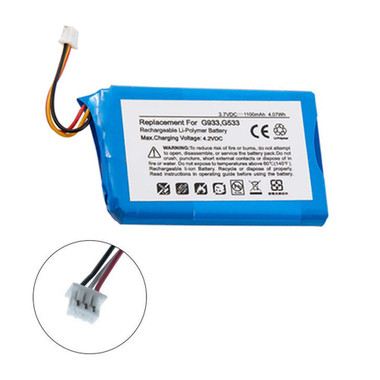 533-000132 Battery for Logitech G533 and G933 Artemis Spectrum Headset