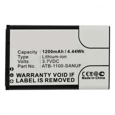 RTI Pro Pro24.i Pro24.r Pro24.z Battery 41-500012-13 ATB-1100-SANUF