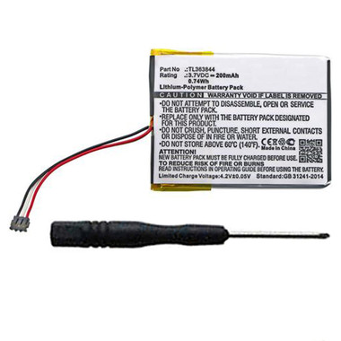 200mAh TL363844 Battery for Nest Learning Thermostat Gen 1 T100577