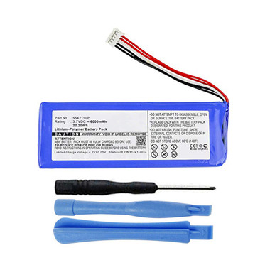 P5542100-P 5542110P Battery for JBL Pulse 2 Bluetooth Speaker 6000mAh