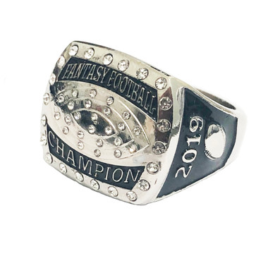 Fantasy Football Championship Ring 2019 League Champion Trophy Size 13