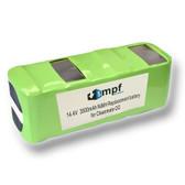 Battery for Infinuvo CleanMate 365 QQ1 QQ2 Basic QQ-2L QQ 200 3500mAh