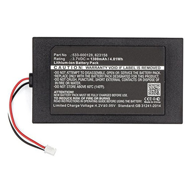 533-000128 Battery for Logitech Harmony 950 and Harmony Elite Remotes