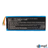 TPMC-8X-BTP Battery for Crestron TPMC-8X TPMC-8X-GA Isys 8.4 Remote