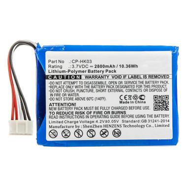 Harman Kardon Esquire 2 Speaker Replacement Battery CP-HK03 2800mAh