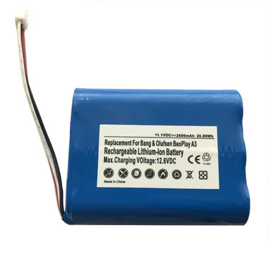3ICR18/65 Battery for Bang & Olufsen Beoplay A3 iPad Speaker 2600MaH
