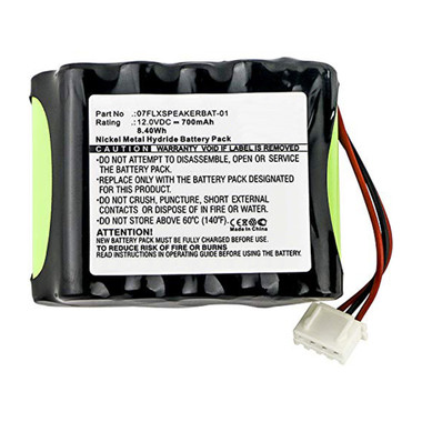 700mAh 07FLXSPEAKERBAT-01 Battery Replacement for Revolabs FLX Speaker