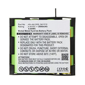 4H-AA1500 941210 Battery for Compex Full Fitness Mi-Sport Mi-Fitness