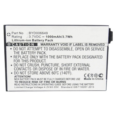 BT BM1000 Video Baby Monitor 1000 Battery BT298555 BYD001743 BYD006649