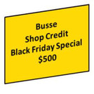 2020 Black Friday Shop Credit $500 You Save $50.00 a 10% discount