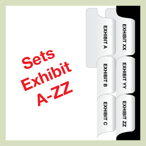 Exhibit Tabs A-ZZ