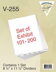 Exhibit Tabs 101-200