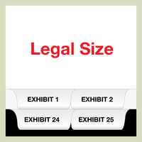 LEGAL SIZE Bottom Exhibit Set 1-25