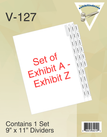 Side Exhibit A - Z Dividers