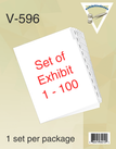 Exhibit Tabs, 1-100