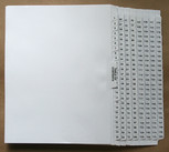 Set of 1 - 200 Binder Tabs