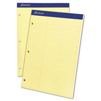 Law Ruled 3 Hole Punched Pad
