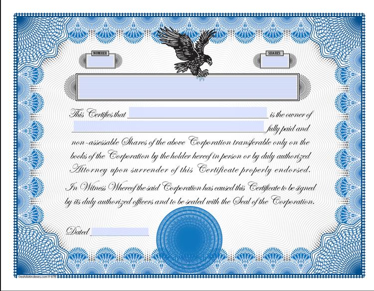 Printable stock certificates exhibitindexes printable stock certificates image 1 yadclub Images