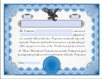 Printable Stock Certificates