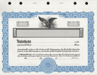 KG3 Corporate Stock Certificates With Free Templates & Shipping