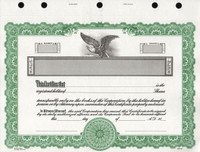 KG2 Corporate Stock Certificates With Free Template