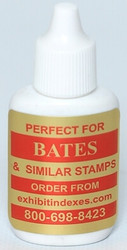 Bates Style Red Ink