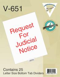 Request for Judicial Notice