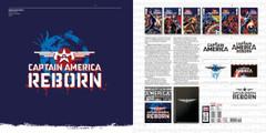 Logo-a-gogo by Rian Hughes. Captain America Reborn