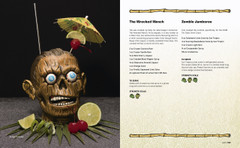 Wrecked Wench and Zombie Jamboree Tiki Cocktail recipes from The Home Bar Guide to Tropical Cocktails
