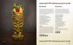 Kon-Tiki Rain and Kona's Curse Tiki Cocktail recipes from The Home Bar Guide to Tropical Cocktails