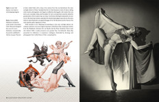 Sample spread from the book City of Pleasure: Paris Between the Wars by Alexandre Dupouy.