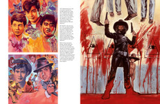 Pages from the book Hung, Drawn and Executed: The Horror Art of Graham Humphreys: El Topo and Diamond Guys