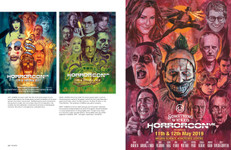 Pages from the book Hung, Drawn and Executed: The Horror Art of Graham Humphreys