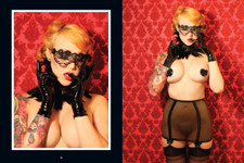 Viva Van Story's Sheer. Pinup Photography