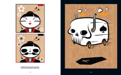 Skullface: Geisha and Death's Boogie Van by Dan Springer.