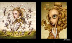 Art that Creeps: Yuji and Queen Wasp by Naoto Hattori – dark fantasy art.