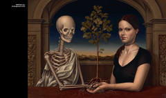 Art that Creeps: The Promise by Madeline Von Foerster.