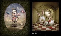 Art that Creeps: She's So Lovely and Agatha by Nicoletta Ceccoli – dark fantasy art.