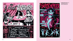 Burlesque Poster Design: Velvet Hammer posters by Von Franco and Chris Martin