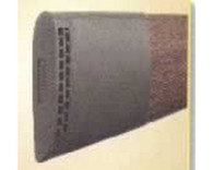 Butler Creek Deluxe Slip-on Recoil Pad - Brown - Small - 50325