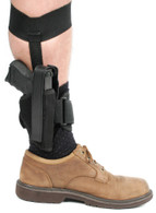 Blackhawk! Nylon Ankle Holster - Size 01, Black, Right Handed - 40AH01BKR