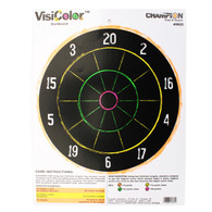 Champion VisiColor High-Visibility Paper Targets - Dartboard - 45825