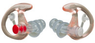 EarPro EP4 Sonic Defenders Plus - Large - 1 Pair - Clear - EP4LPR