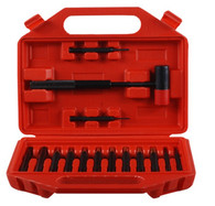 DAC Technologies Brass and Steel Punch Set - 15PC - 363257