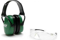 Howard Leight Shooting Safety Combo Kit - Green - R01761