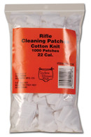 Southern Bloomer Cotton Knit Cleaning Patches - .22 Cal. Rifle - 1000 pack