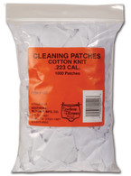 Southern Bloomer Cotton Knit Cleaning Patches - .223 Cal. - 1000 pack